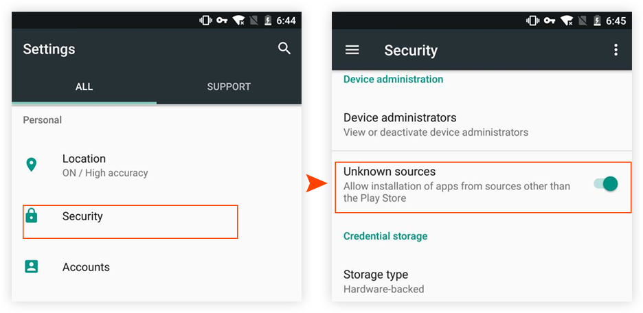 how to install InsTube on Android