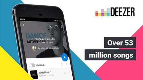 Deezer-music-downloader-priced-app