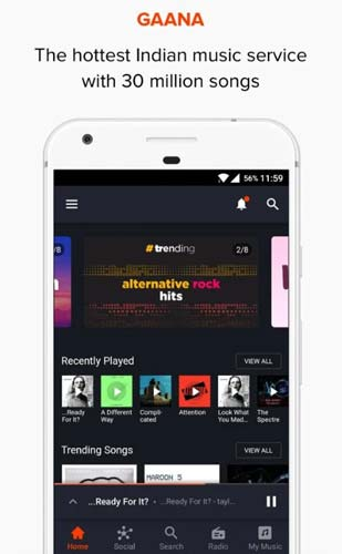 Gaana-music-downloader-priced-app