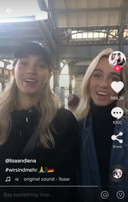 LisaandLena-TikTok-top-celebrity