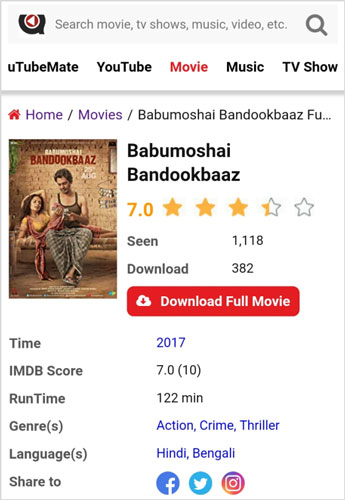 Babumoshai Bandookbaaz Full Movie Download for Free 720p