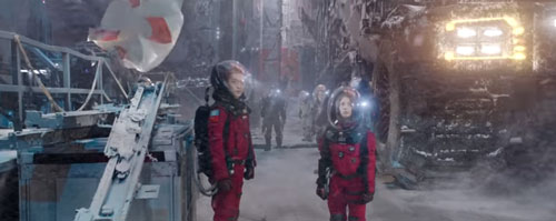 The Wandering Earth movie casts
