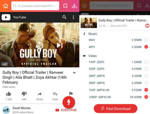 Gully Boy full movie songs trailers download InsTube