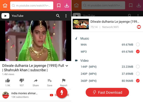 Dilwale Dulhania Le Jayenge full movie download HD MP4 in InsTube