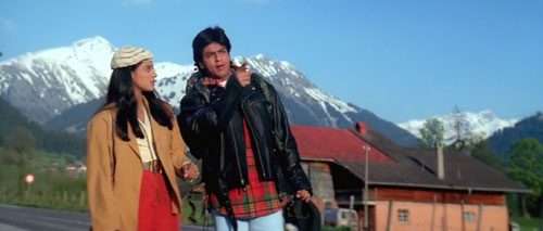 The two in fairytale in Movie Dilwale Dulhania Le Jayenge
