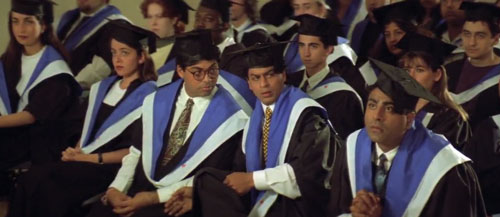 Raj at Graduation Ceremony - Dilwale Dulhania Le Jayenge Movie