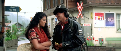 Simran and Raj on trip in Europe- Dilwale Dulhania Le Jayenge