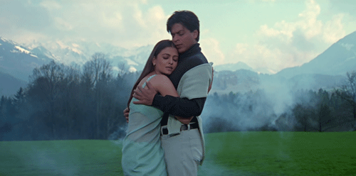 Raj and Megha in Mohabbatein