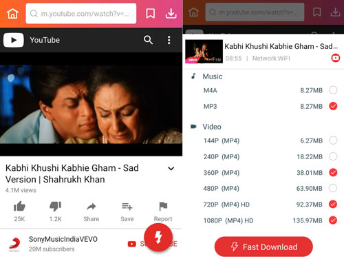 Kabhi Khushi Kabhi Gham sad song MP3 download InsTube