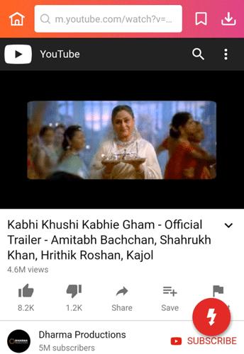 Kabhi Khushi Kabhie Gham tailer