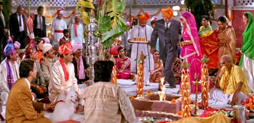 Rajesh and Pooja wedding in Hum Aapke Hain Koun