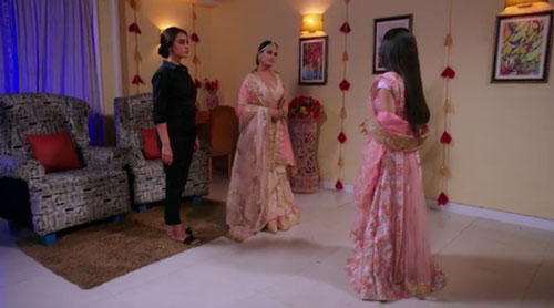 Bela and Vishakha confront Tamsi Naagin S3E98 InsTube