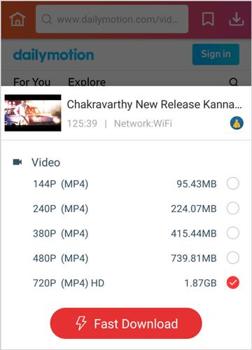 download install InsTube watch Chakravarthy