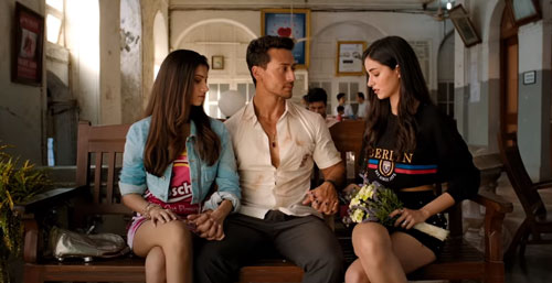 Tiger Shroff Tara Sutaria and Ananya Panday InsTube
