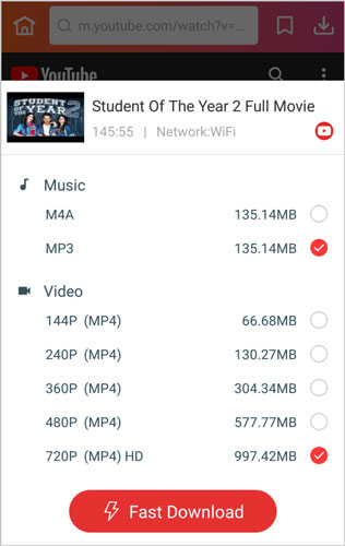 choose quality fast download Student of the Year 2 InsTube