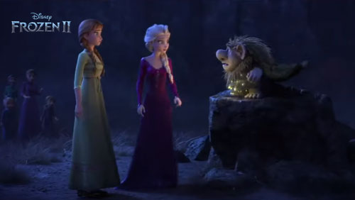 elf elder Pabbie in Frozen 2 full movie trailer
