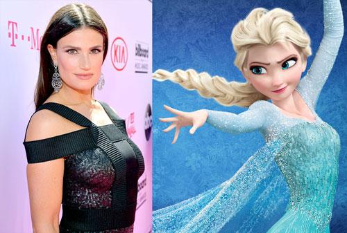 Frozen 2 cast Idina Menzel Elsa InsTube