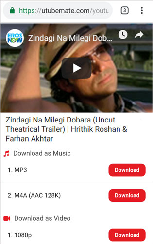 Zindagi Na Milegi Dobara full movie download utubemate