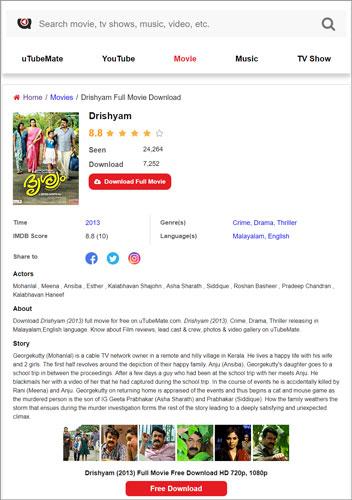 Drishyam Malayalam full movie uTubeMate com