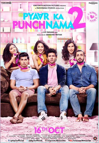 Pyaar Ka Punchnama 2 movie poster InsTube