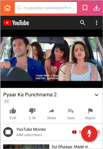 Pyaar Ka Punchnama 2 full movie download button