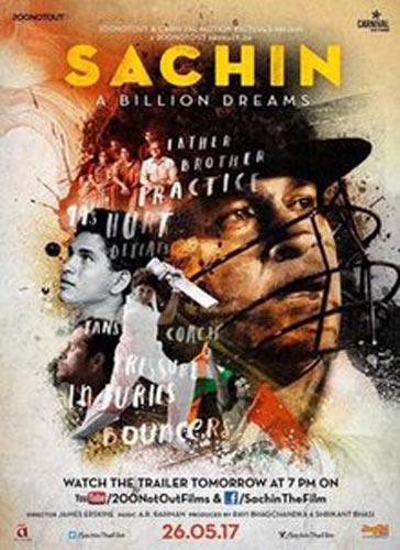 Sachin A Billion Dreams movie poster