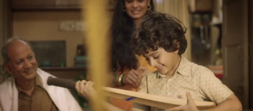 Sachin movie shot Sachin Tendulkar as a child