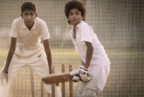 child cricket training