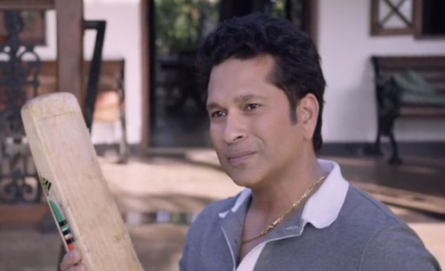Sachin Tendulkar in Sachin A Billion Dreams movie