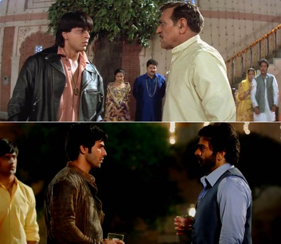 HSKD and DDLJ boyfriend and father