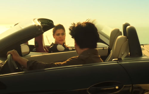 Dilwale Raj and Meera Meet on Cars