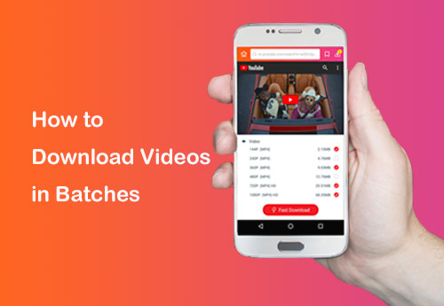 How to Download Videos, Music and Movies in Batches