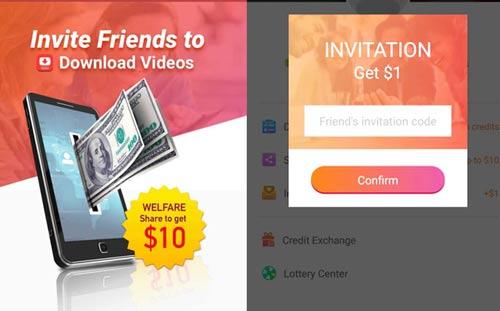 InsTube Invitation Code: Get $10 by Sharing InsTube App