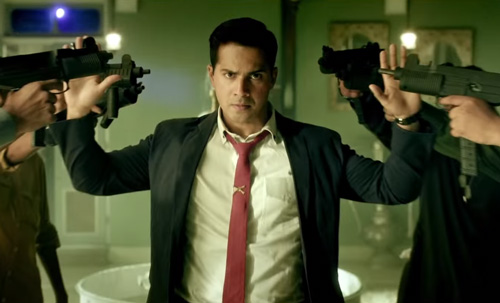 Junaid Ansari Varun Dhawan in Dishoom movie