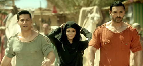 three main casts in Dishoom