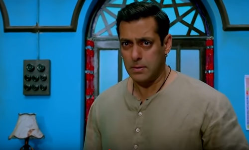 Salman Khan as Bajrangi Pawan in Bajrangi Bhaijaan