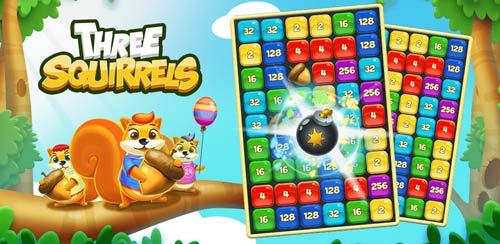 Three Squirrels Puzzle Game Announced for Android