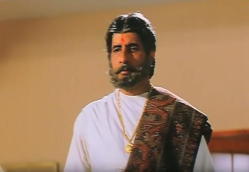 Amitabh Bachchan as Thakur Bhanupratap in Sooryavansham