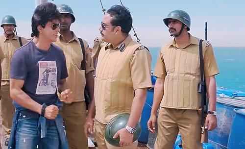 SRK Rahul in Chennai Express
