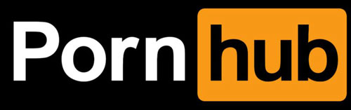 Pornhub website logo