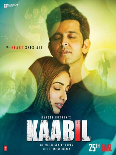 Kaabil movie 2017 poster