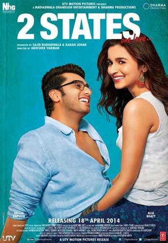 2 States movie 2014 poster