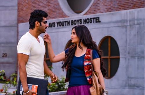 Krish meets Ananya