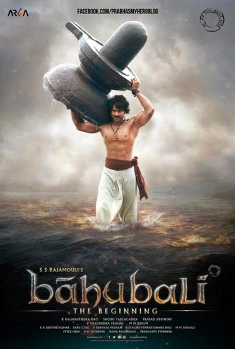 Bahubali The Beginning movie 2015 poster
