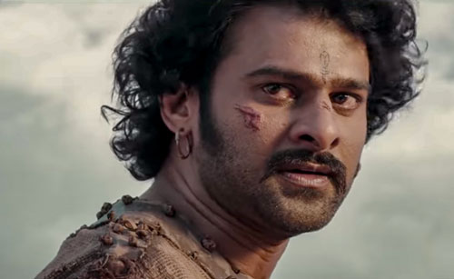 Prabhas as Amarendra Baahubali and Shivudu
