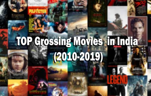 TOP Grossing Movies of the Decade in India (2010-2019)