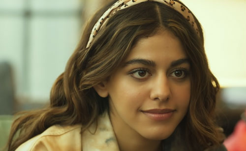 Aalia F as the daughter