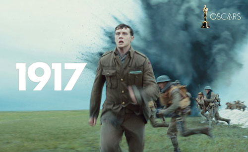 2020 Oscars nomination movie 1917