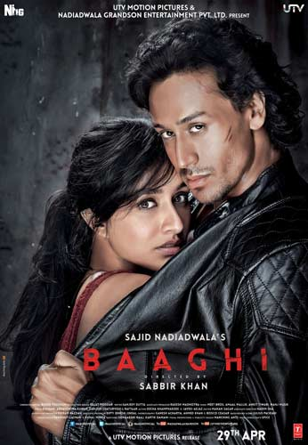 Baaghi movie 2016 poster