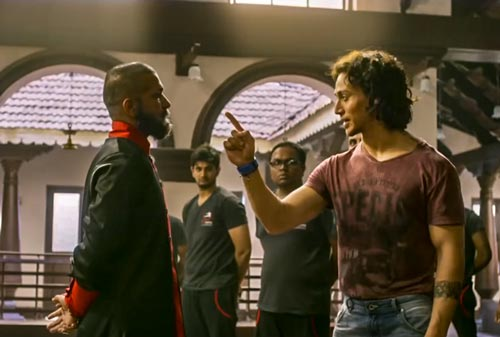 Baaghi movie screenshot